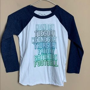 Chaser Football Boys Size 6 Tee